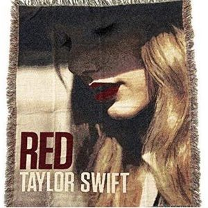 Taylor Swift RED Era Blanket